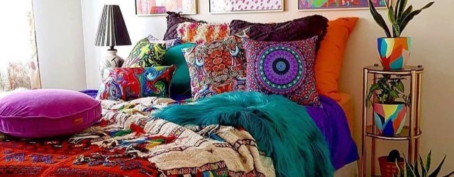 Captivating Colorful Bedroom Design Ideas That Looks So Lovely31