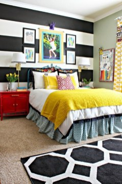 Captivating Colorful Bedroom Design Ideas That Looks So Lovely33