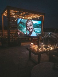 Chic Outdoor Home Theaters Design Ideas To Have Asap03