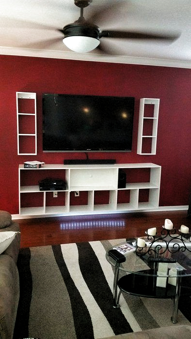 Incredible Diy Entertainment Center Design Ideas That Look More Comfort01