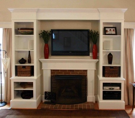 Incredible Diy Entertainment Center Design Ideas That Look More Comfort02