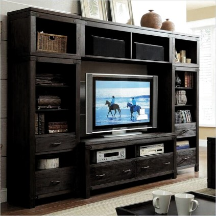 Incredible Diy Entertainment Center Design Ideas That Look More Comfort07