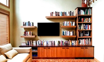 Incredible Diy Entertainment Center Design Ideas That Look More Comfort13