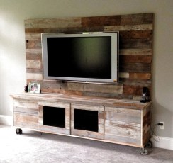 Incredible Diy Entertainment Center Design Ideas That Look More Comfort20