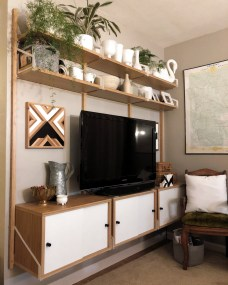 Incredible Diy Entertainment Center Design Ideas That Look More Comfort30