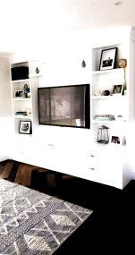 Incredible Diy Entertainment Center Design Ideas That Look More Comfort31