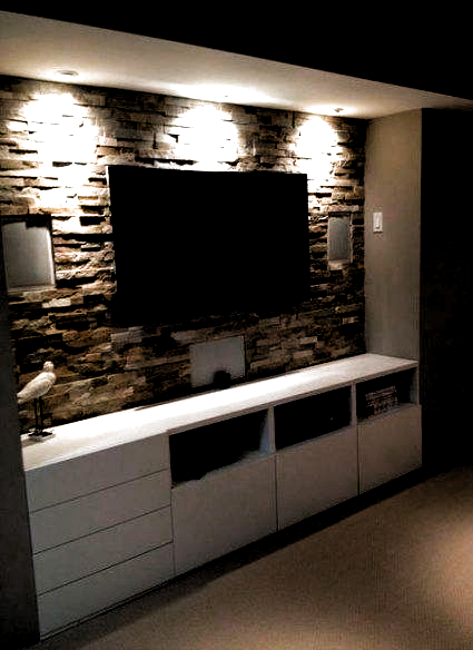 Incredible Diy Entertainment Center Design Ideas That Look More Comfort33