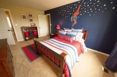 Latest Kids Bedroom Design Ideas With Spiderman Themes02