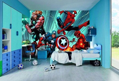 Latest Kids Bedroom Design Ideas With Spiderman Themes11