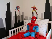 Latest Kids Bedroom Design Ideas With Spiderman Themes18