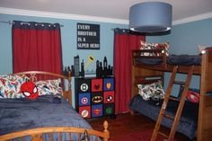 Latest Kids Bedroom Design Ideas With Spiderman Themes21