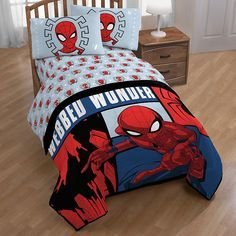 Latest Kids Bedroom Design Ideas With Spiderman Themes22