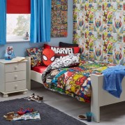 Latest Kids Bedroom Design Ideas With Spiderman Themes24