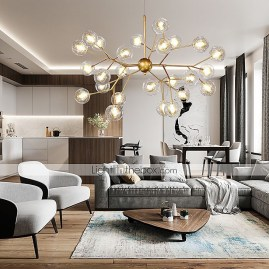 Magnificient Lighting Design Ideas For Stunning Living Room Décor14