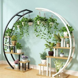 Newest Flower Shelf Design Ideas That Will Amaze You14