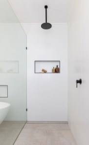 Stunning Black Bathroom Shower Design Ideas That You Need To Copy14