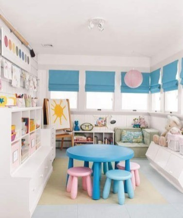 Trendy Kids Playroom Design Ideas To Try This Year22