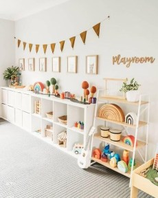 Trendy Kids Playroom Design Ideas To Try This Year32
