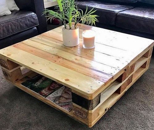 Unordinary Wooden Pallet Furniture Ideas That Is Easy For You To Make22