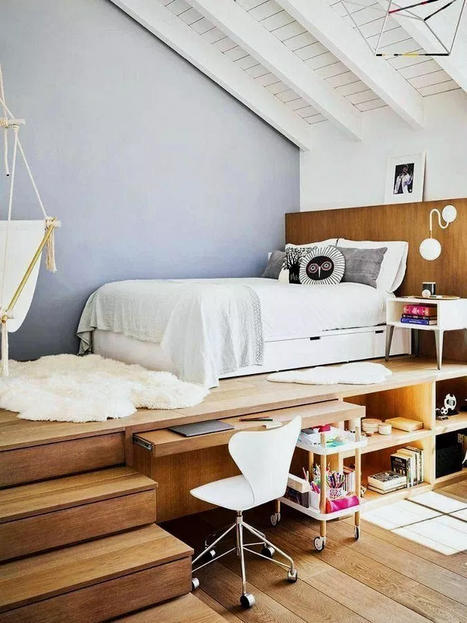Unusual Small Bedroom Design Ideas For A Narrow Space01