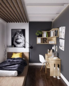 Unusual Small Bedroom Design Ideas For A Narrow Space05