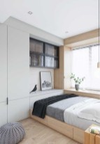 Unusual Small Bedroom Design Ideas For A Narrow Space07