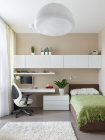 Unusual Small Bedroom Design Ideas For A Narrow Space16