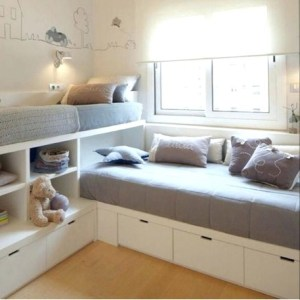 Unusual Small Bedroom Design Ideas For A Narrow Space20