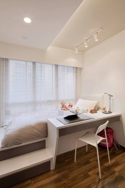 Unusual Small Bedroom Design Ideas For A Narrow Space31