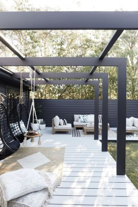 Wonderful Outdoor Living Room Design Ideas For Enjoying Your Days26