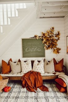 Affordable Fall Home Design Ideas On Budget 33