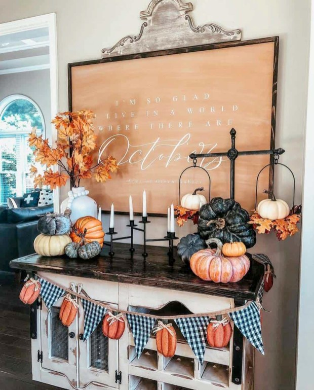 Affordable Fall Home Design Ideas On Budget 46