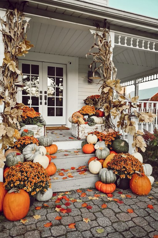 Affordable Fall Home Design Ideas On Budget 47