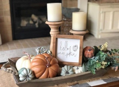 Amazing Diy Fall Farmhouse Decorating Ideas That You Need To Try 25