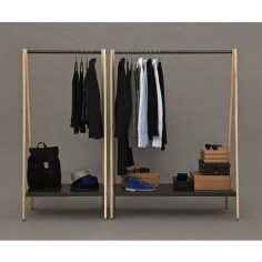 Awesome Diy Small Bedroom Design Ideas With Close Clothing Rack 28
