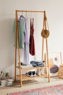 Awesome Diy Small Bedroom Design Ideas With Close Clothing Rack 32