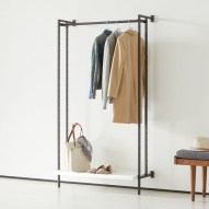 Awesome Diy Small Bedroom Design Ideas With Close Clothing Rack 41