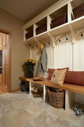 Awesome Farmhouse Mudroom Decorating Ideas To Try Asap 25