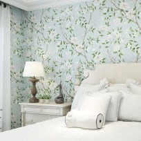 Best Bedroom Wallpaper Decor Ideas That Suitable For Your Family 31