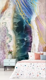 Best Bedroom Wallpaper Decor Ideas That Suitable For Your Family 39