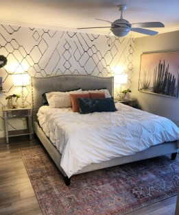 Best Bedroom Wallpaper Decor Ideas That Suitable For Your Family 40