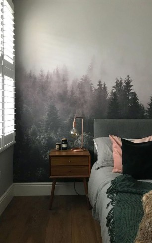 Best Bedroom Wallpaper Decor Ideas That Suitable For Your Family 46