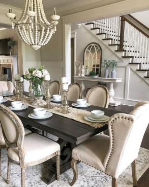 Elegant Dining Room Design Ideas That Will Amaze You 38