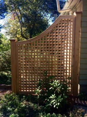Enchanting Living Fences Design Ideas That Suitable For Your Yard 45