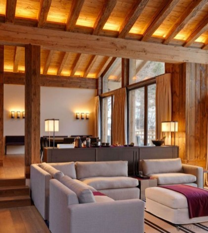 Impressive Spacious Chalet Design Ideas With Warm And Cosy Ambience 39