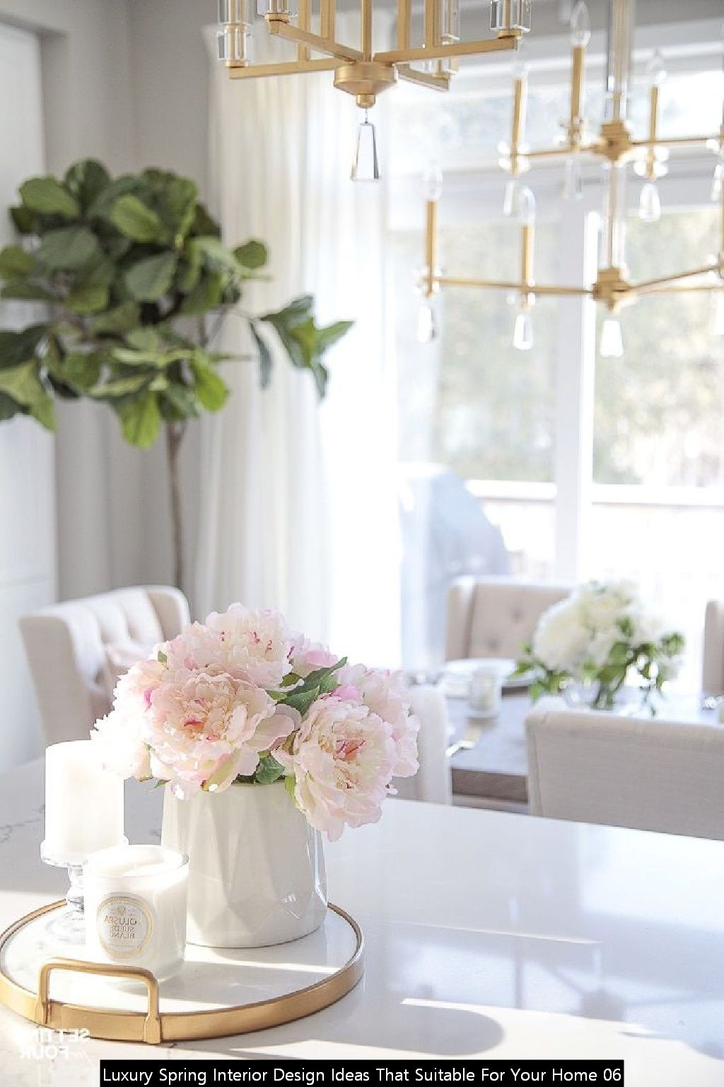 Luxury Spring Interior Design Ideas That Suitable For Your Home 06