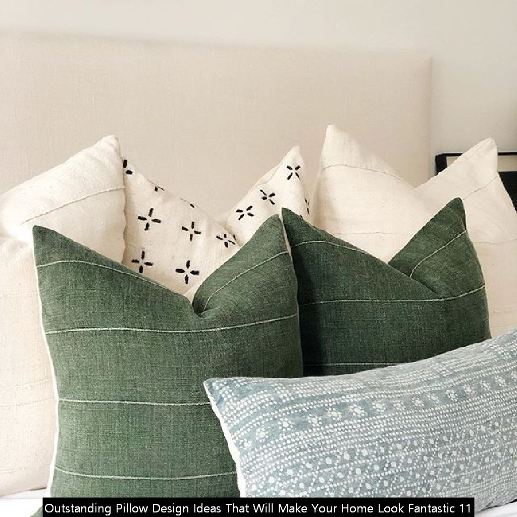 Outstanding Pillow Design Ideas That Will Make Your Home Look Fantastic 11