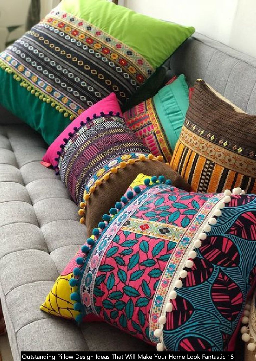 Outstanding Pillow Design Ideas That Will Make Your Home Look Fantastic 18
