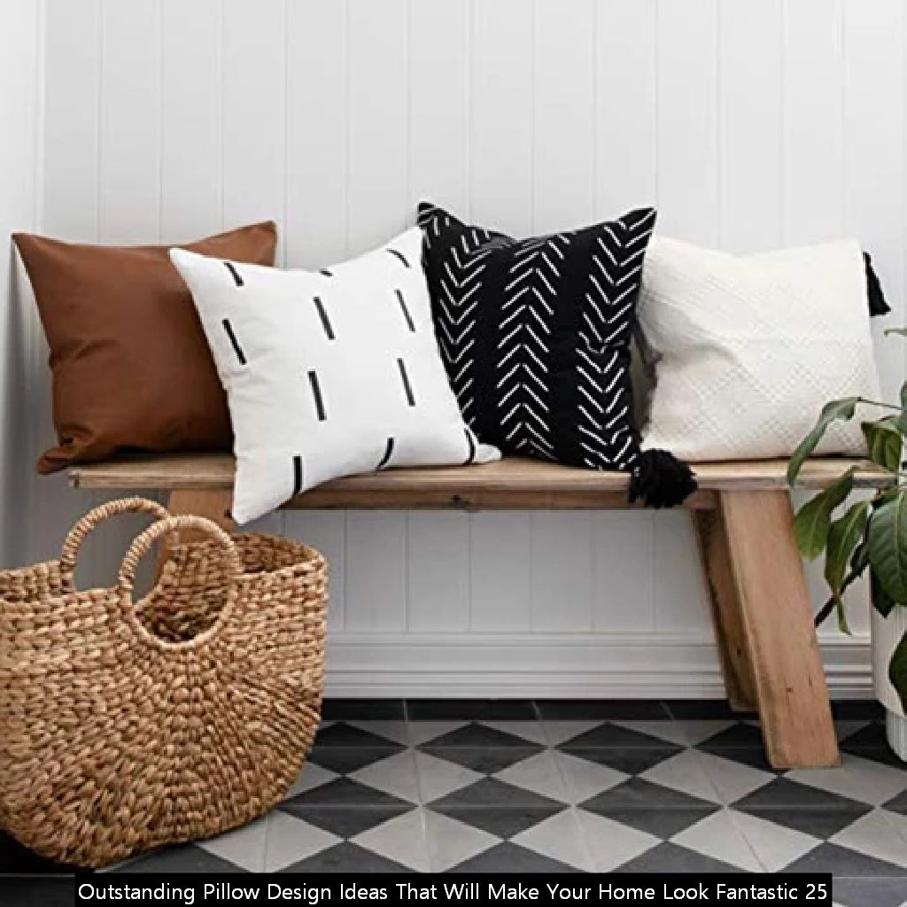 Outstanding Pillow Design Ideas That Will Make Your Home Look Fantastic 25
