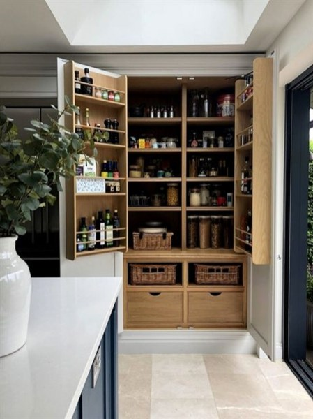 Simple Kitchen Storage Design Ideas That You Want To Try 45